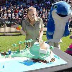 Bindi Irwin partners with Sea World for Generation Nature. #generationnature #SeaWorld #BindiIrwin