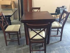 Almost New 5 Piece Dining Set $175.00