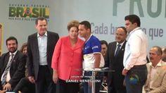 PRONATEC FAZ HISTÓRIA - Dilma agradece governador por parcerias