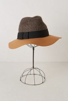 Crushing hard on this Fedora from Anthropologie.