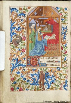 Book of Hours, MS M.161 fol. 48v - Images from Medieval and Renaissance Manuscripts - The Morgan Library & Museum
