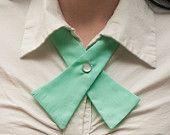 Womens Neck Tie - Mint Green