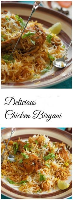 Pakistani Chicken Biryani (recipe Included). Must Try it and get an Amazing Taste