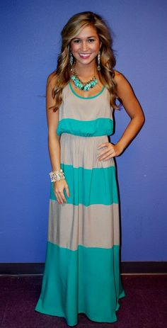 Jade Beach Bum Maxi  from Impressions Online Boutique