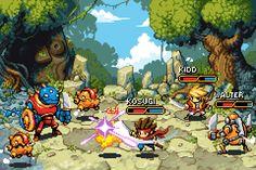 RPG Battle by jnkboy.deviantart.com on @DeviantArt