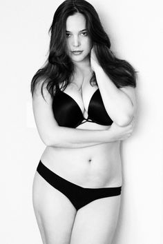 plus size model heather hazzan