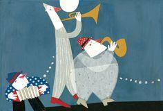 Anem de festa!-  il-lustracions Carmen Queralt-. Poemes enginyosos i divertits per a cada festa.