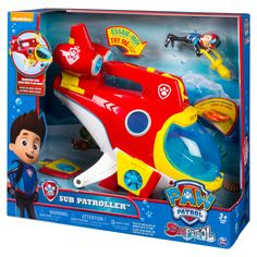 22286e51e4a8 PAW Patrol Sub Patroller Transforming Vehicle with Lights, Sounds and  Launcher - image 10 of