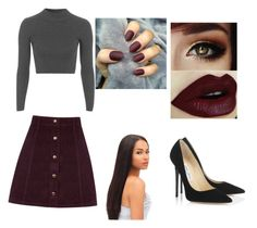 """""""Untitled #121"""" by livelovethelife on Polyvore featuring Oasis, Topshop and Jimmy Choo"""