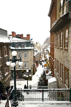 Return for another Christmas in Quebec City