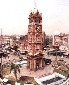 Torre del Reloj de Faisalabad, Pakistán10 torres