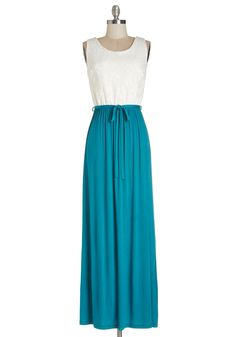 Cute Collaboration Dress in Teal #modcloth