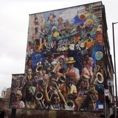 The Hackney Peace mural 1985 by Mick Jones and Ray Walker has been recently restored and is one of the capital's best murals. This is my first memory of street art, travelling through Hackney in the back of my dad's car on our way home to Camden.  Loved it then and still love it now!