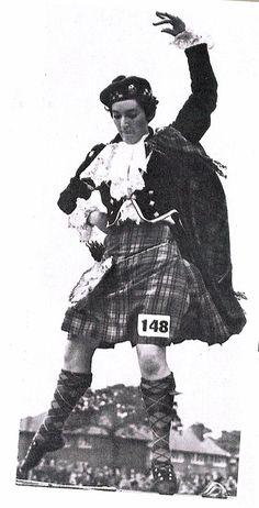 Catriona Buchanan(?) - Pic extracted from Toronto Scottish world festival 1973 program