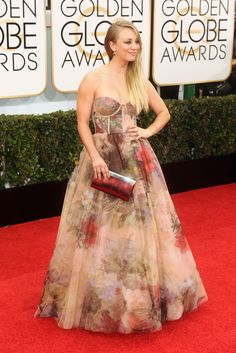 On the Red Carpet at the Golden Globes - Slideshow