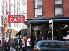 Soho, NYC Fanelli Cafe