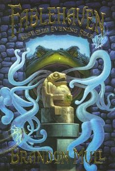 The kids didn't bother me as much in book two. How creepy was the nail in his head guy? Loved the frog statue and the cover art and the maze at the end. The massage of the warty guy was a little too gross, gag!