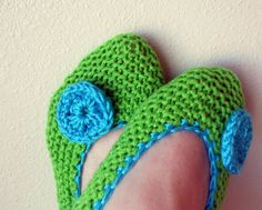 Knitted house slippers for woman / handmade shoes/ by JANAHknits, $23.00
