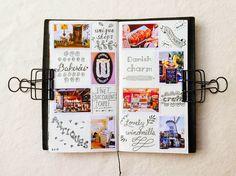 My Midori Traveler's Notebook - Photo Journal / pepper and twine