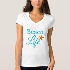 Beach Typography Women's T-Shirt