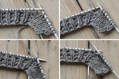 Eine ausführliche Anleitung für ein rustikales Strickkissen im Alpenlook. Das Muster aus kleinen Zöpfen zwischen einem derben Muster macht sich hervorragend auf dem besonderen Stück.