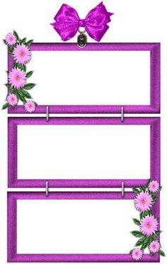 tubes cluster - Page 11 Frame Border Design, Boarder Designs, Page Borders Design, Multi Picture Frames, Flower Picture Frames, Flower Frame, Rose Brown Hair, Kindergarten Coloring Pages, Boarders And Frames