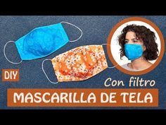 Cómo HACER 1 MASCARILLA de TELA o CUBREBOCAS con FILTRO | (incluye patrón gratis) - YouTube Small Sewing Projects, Sewing Hacks, Sewing Crafts, Diy Bow, Diy Ribbon, Beautiful Mask, Sewing Accessories, New Hobbies, Sewing Techniques