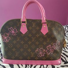 6dc9f6e09021 Louis Vuitton Alma Beautiful Bag Authentic Code SD0994