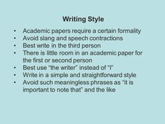 Writing Academic Papers The Third Person, Writing Styles, Writer, Paper, Sign Writer, Handwriting Styles, Writers