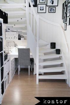 Lilla kontoret under trappen