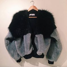 the design studio faux fur bombers - Google Search