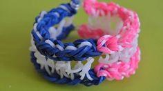 Морской браслет из резинок на станке. DIY marine bracelet Happy Rainbow Loom https://youtu.be/cDZwZfdo46o Этот видеоурок покажет Вам как сплести морской узел браслет. Морской узел браслет потому что между верхним и нижним слоем браслета есть прослойка из белых резиночек ввиде морского узла. В морском узле браслете есть все качества отличного и модного украшения. Желаю успехов и хорошего настроения. Не забываем лайк