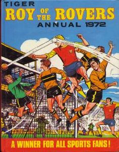 The Roy of the Rovers Annual Collection 1972 #TapasDeRevistas