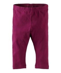 Another great find on #zulily! Loganberry Capri Leggings - Infant by Tea #zulilyfinds