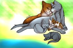 Okay! New contest theme since Christmas is over! Draw your favorite warrior cat couple!