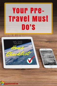 This is you Pre; Roadtrip business trip, Pre-Vacation Pre-travel Home Checklist! 14 essential things to tick off and ensure are done pre-departure for any travels! Holiday Checklist, Vacation Checklist, Travel Guides, Travel Tips, Disney World Vacation, Vacation Spots, Travel Words, Best Places To Travel, Business Travel