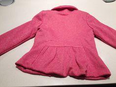 Vestje 'Louise' uit zelfgemaakte kleertjes 2 - achterkant