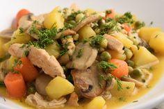 Soup Recipes, Meat, Chicken, Soups, Dios, Soup, Cubs, Soap Recipes