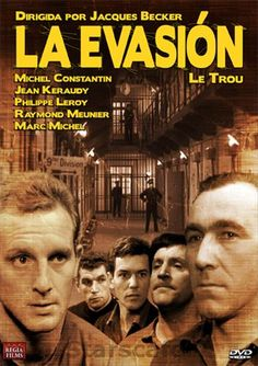 La evasión (1960) Francia. Dir: Jacques Becker. Drama. Thriller. Dereito - DVD CINE 504