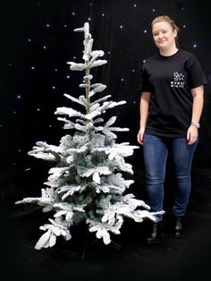 Snowy Tree - Small - Type 1 | Trees, Plants & Foliage Theme | Event Prop Hire