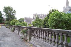 Dublin, Ireland (St. Patrick's Cathedral on the right) - photo by LK Hunsaker 2008