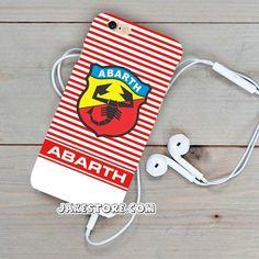 Abarth Logo Stripe iPhone Case 4 5 6 Plus Hardcase