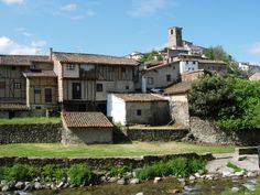 Nice view of of the jewish Quarter of Hervás (Extremadura)