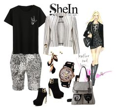 """""""TheShe-love"""" by sahelirima on Polyvore featuring LE3NO and Gabriella Rocha"""