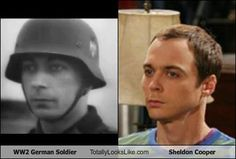 Time -Traveling Celebrity?.........                              Dr. Sheldon Cooper