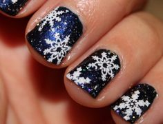 Nails 2016 is the most comprehensive site for nail art, designs, and ideas including the Top 20 Christmas Nail Art Ideas and Designs for Gel Nail Art Designs, Fingernail Designs, Christmas Nail Art Designs, Paint Designs, Stars Nails, Snowflake Nails, Christmas Gel Nails, Holiday Nails, Christmas Snowflakes