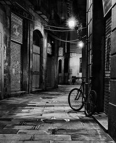 Back alley, Barcelona. Catalonia