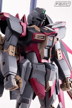 GUNDAM GUY: MG 1/100 Destiny Impulse [DIアダガ・オーディン] - Customized Build