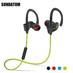 Bluetooth 4.1 Wireless Headphones Ear Hook Fashion Sport Earphones Hifi Stereo Mp3 Music Player Earbuds Headset with Microphone