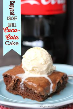 If you're a Cracker Barrel fan like me, you're sure to love this oh-so addicting copycat Coca-Cola Cake!